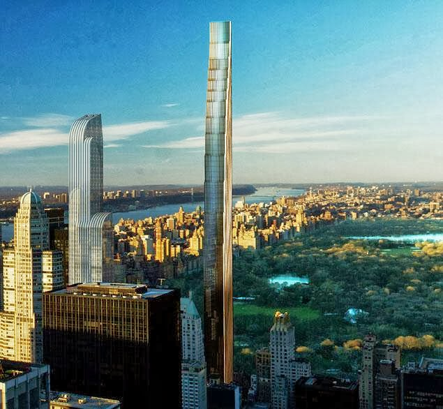 Nyc Approves Billionaires Tower Bulgebull Com