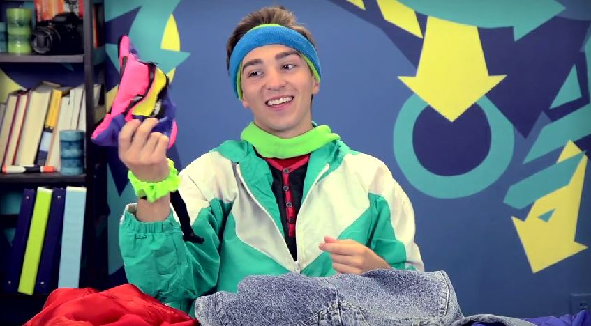 teens react to leg warmers neon headbands and other 80�s